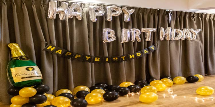 Buy this eccentric birthday or anniversary decoration