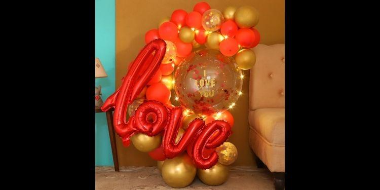 Glowing Love You Bouquet