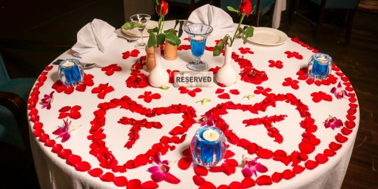 Find something new where you can go and dine in with romance.