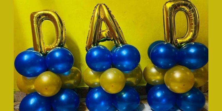 DAD Balloon Bouquet
