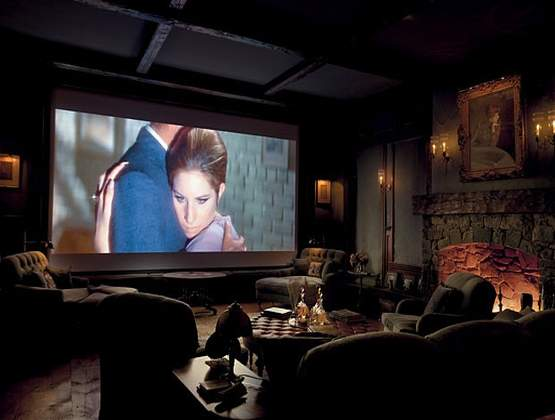 Set-up a big screen movie evening with your loved ones!