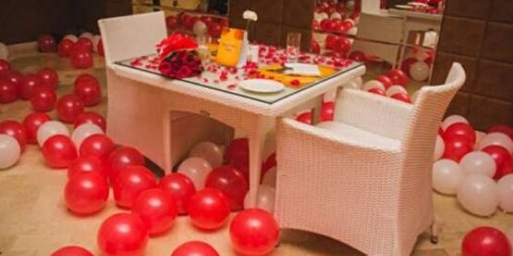 V Day Private Candlelight Dining