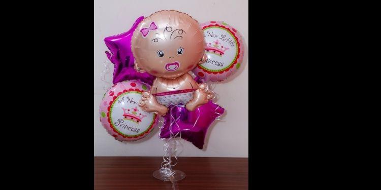 Welcome Princess Balloon Bouquet
