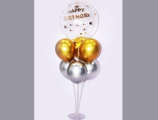 Get a wide array of options for your birthday bash decoration at your fingertips. Send this classic balloon bouquet to your loved one's place and watch the surprise and joy on their face.