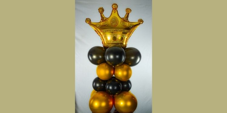 Classy Crown balloon Stand