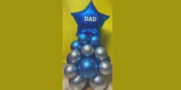 Classy DAD Balloon Bouquet