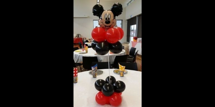 Mickey Mouse Balloon Stand