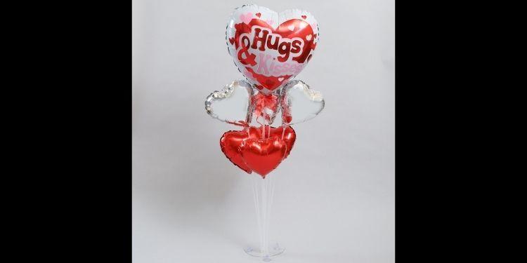 Hugs & Kisses Balloon Bouquet