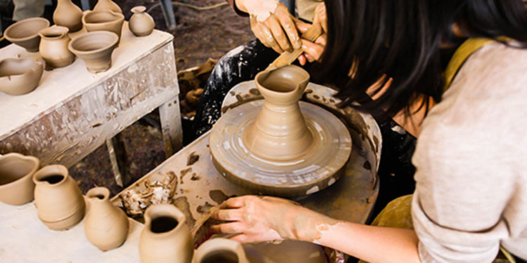 Pottery is considered a very exciting and cheerful activity by which you can give a picture to your imaginations