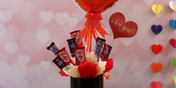 Beautiful Chocolatey Arrangement