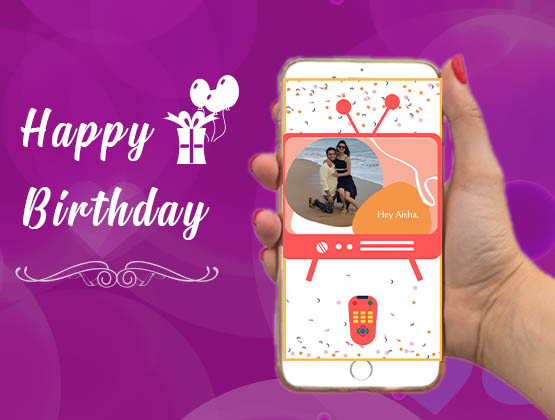Create a personalised Happy Birthday e-game APP for your loved ones
