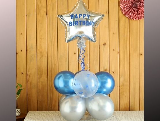 Who wouldn't want this balloon bouquet for their birthday