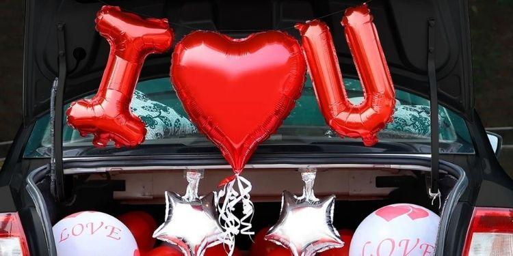 Car Deck I Love You Decor