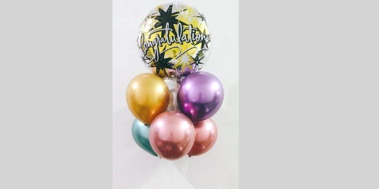 congratulations balloons bouquet