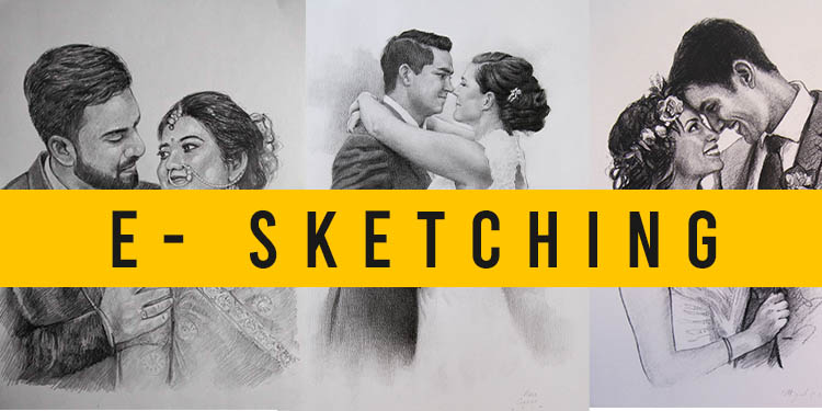 Surprise your loved ones with a handmade sketch.