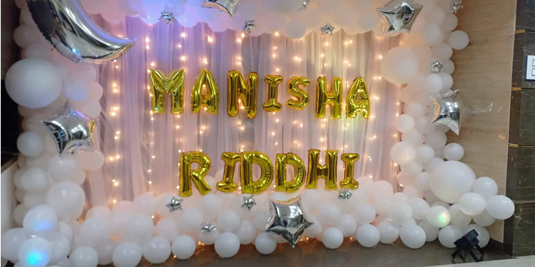 eccentric birthday or baby shower decoration in mumbai