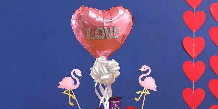 Flamingo Love Pink Chocolatey Box