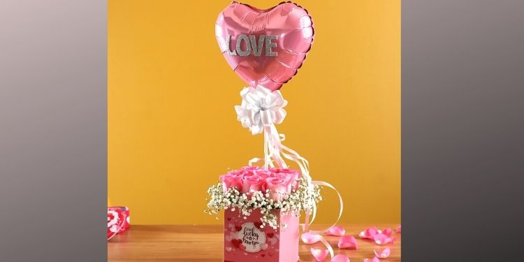 For Your Sweetheart Floral Box