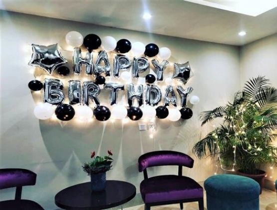 Throw a birthday party that will have it all, from balloons, glitters to fairy lights and whatnot.