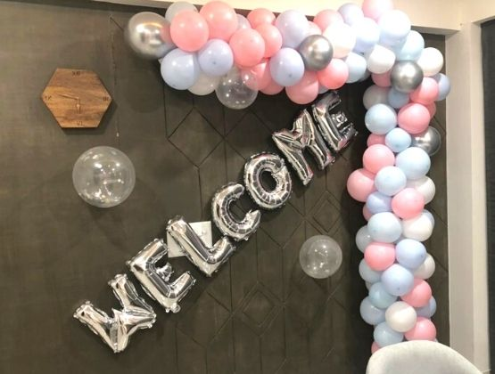 Grand Welcome Party Decor