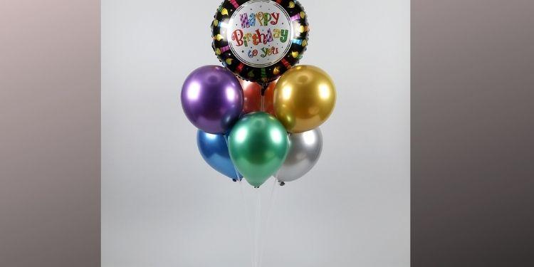 Happy Birthday Balloon Bouquet