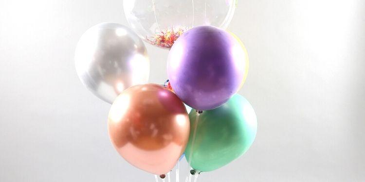 Happy Holi Balloon Bouquet