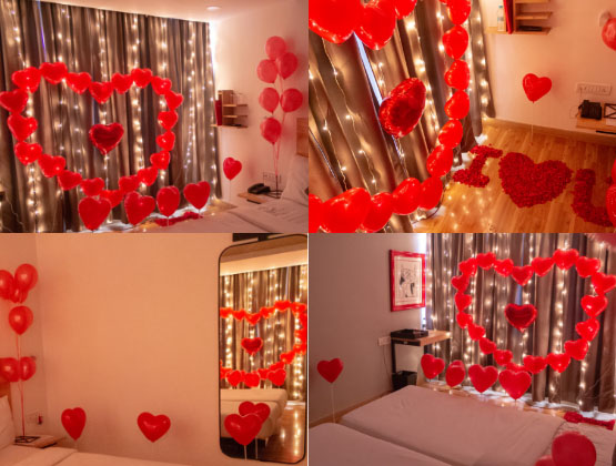 Express your deepest feelings to your loved one in an extraordinary way.