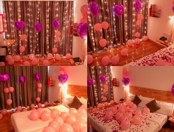 Convey your deepest feelings to your loved one in a very creative and impressive way with our help. We will try to create a perfect aura for your celebration.