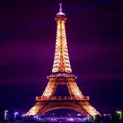 Led Giant Eiffel Tower