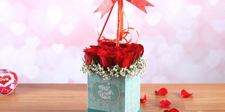 Made With Love Floral Box