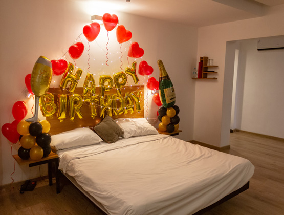 Balloons for birthdays are a great idea. Turn a simple birthday decoration at home into a full-blown birthday celebration.