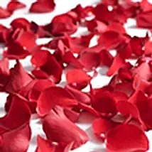Message Written With Rose Petals 500G