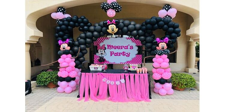 Minnie Mouse Theme Birthday Decor