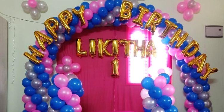 Mixed Color Theme Birthday Decor