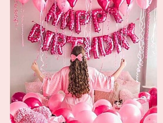 It is time to add more pink to the pink city with our princess-themed birthday decoration fit for royalty.