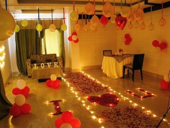 Ask your partner out for movie & surprise them with private screening and candlelight dinner or lunch.