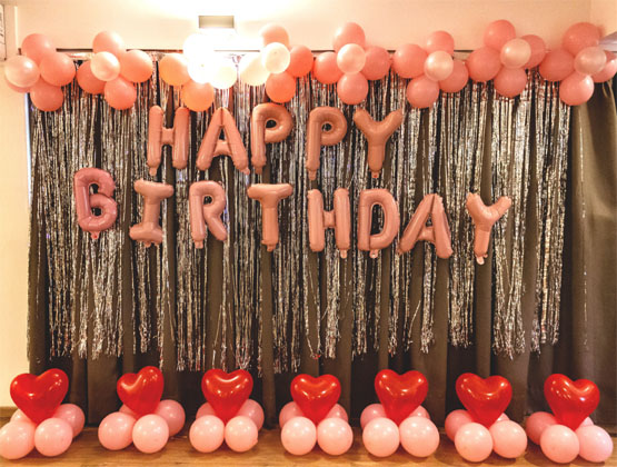 Get ready for the biggest birthday bash that will have balloons, fun, laughter and love. Have an exciting birthday celebration with our help.
