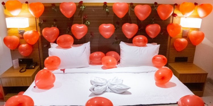 Lovers have been professing their love for their partners in traditional