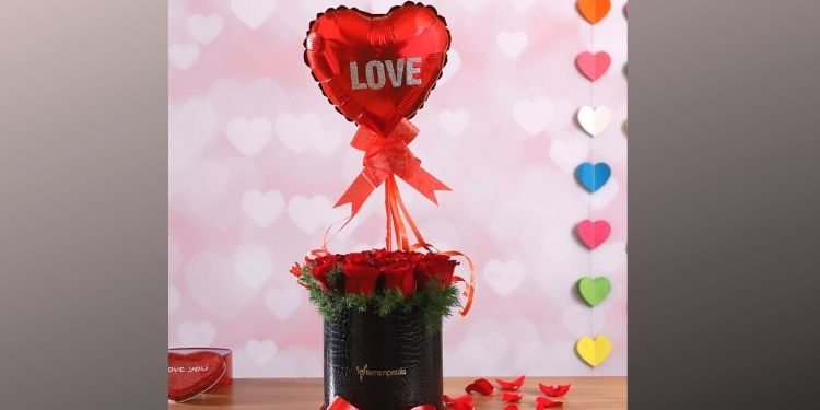 Spirited Love For You Roses Box