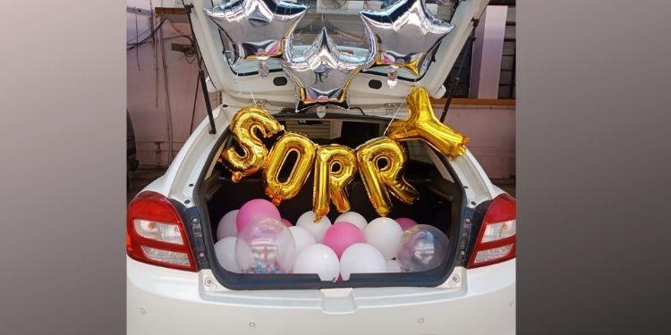 Starry Sorry- Car Trunk Decor