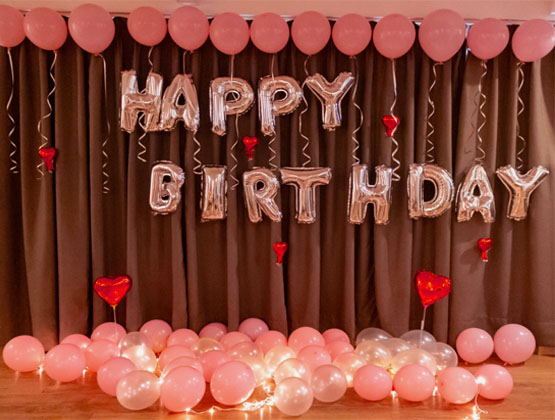 A surprise birthday party is a perfect gift you can give someone on their birthday and we are happy to help you with that.