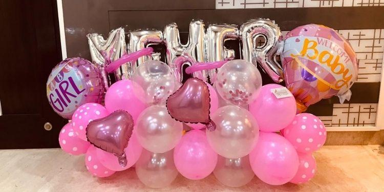 Name Balloon Bouquet
