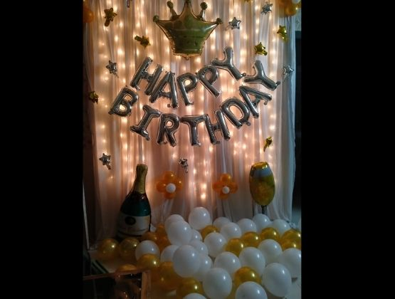 Buy this eccentric birthday decoration.