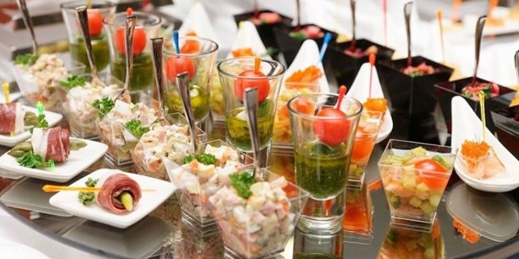 Party with amazing food that adds up to your appetite.