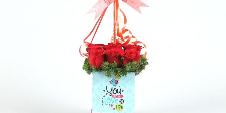 Valentine Blooming Box