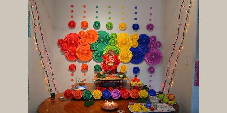 Faniest Backdrop for Ganesha