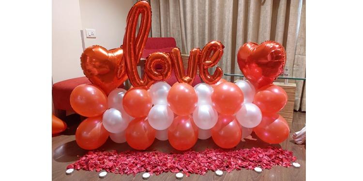 Sparkling love bouquet