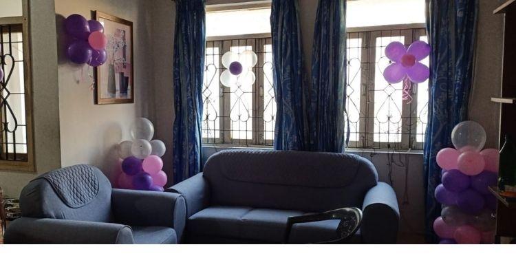 Colourful Balloon Decor