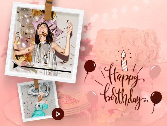 Personalised Birthday wish