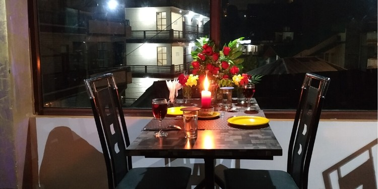 Place where you can have a delicious meal and yet can spend a quality time with your love.